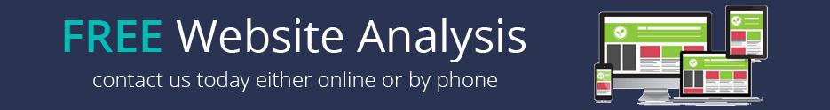 free website analysis banner