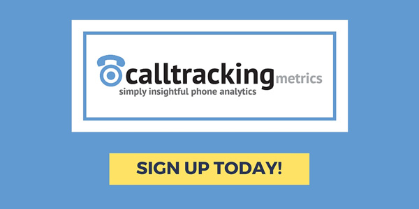 call tracking metrics banner