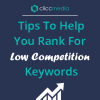 rank for low competition keywords
