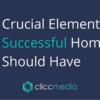10 crucial factors to have on your homepage