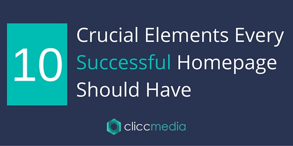 10 Crucial Elements Every Successful Homepage Should Have