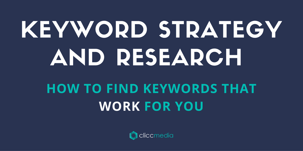 keyword strategy and research