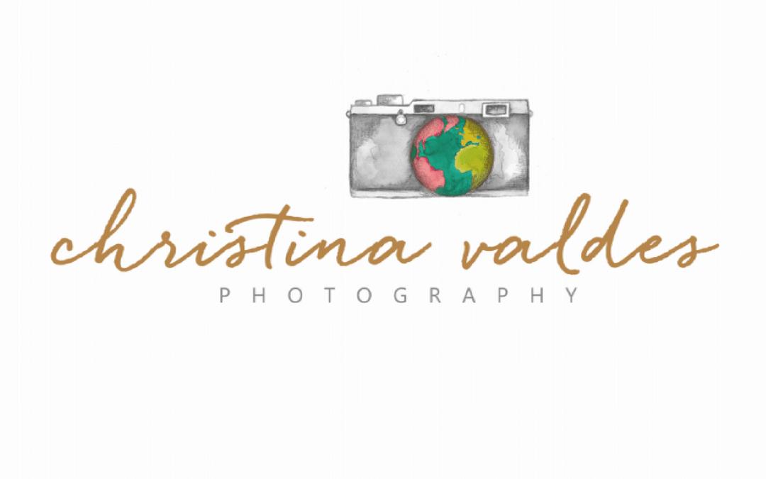 Logo Design for Christina Valdes Photography