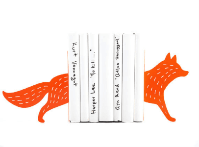 reading-fox-metal-bookends