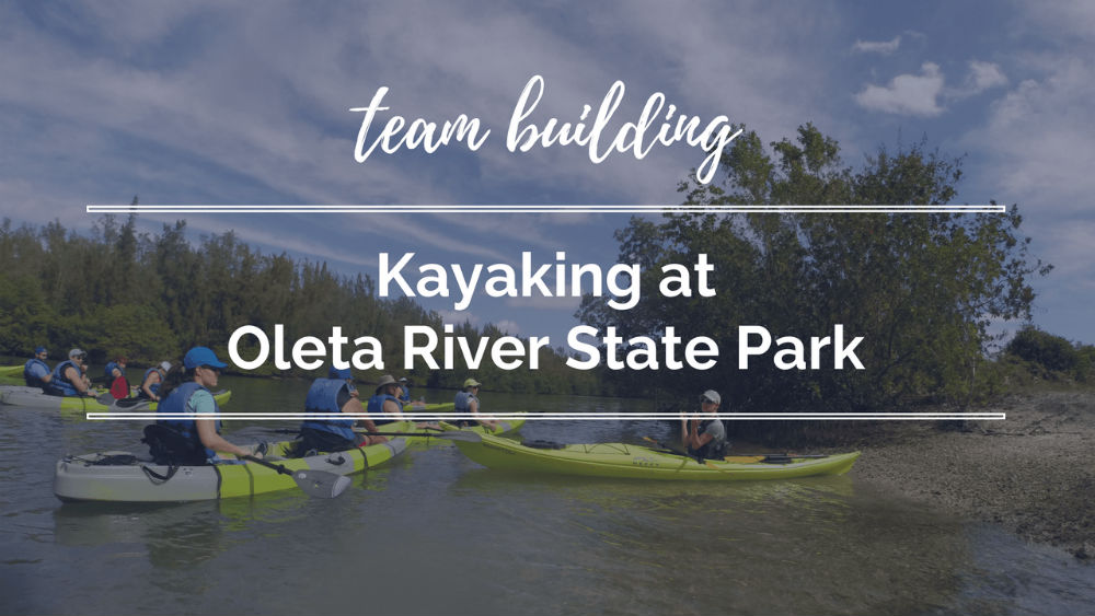 Team Building: Kayaking at Oleta River State Park