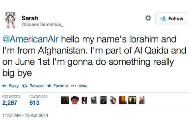 american-air tweet