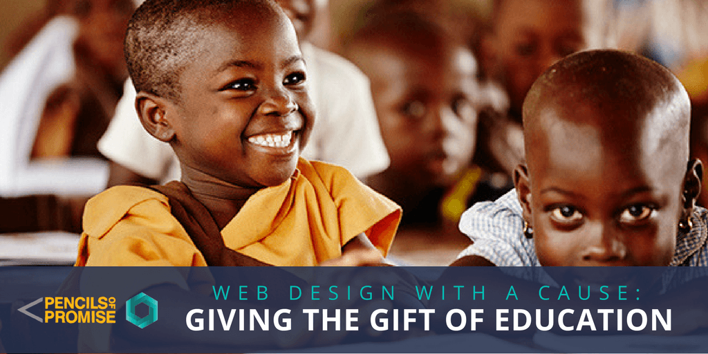 Web Design with a Cause: Giving the Gift of Education