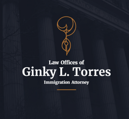 Custom Law Firm Logo for the Law Offices of Ginky L. Torres