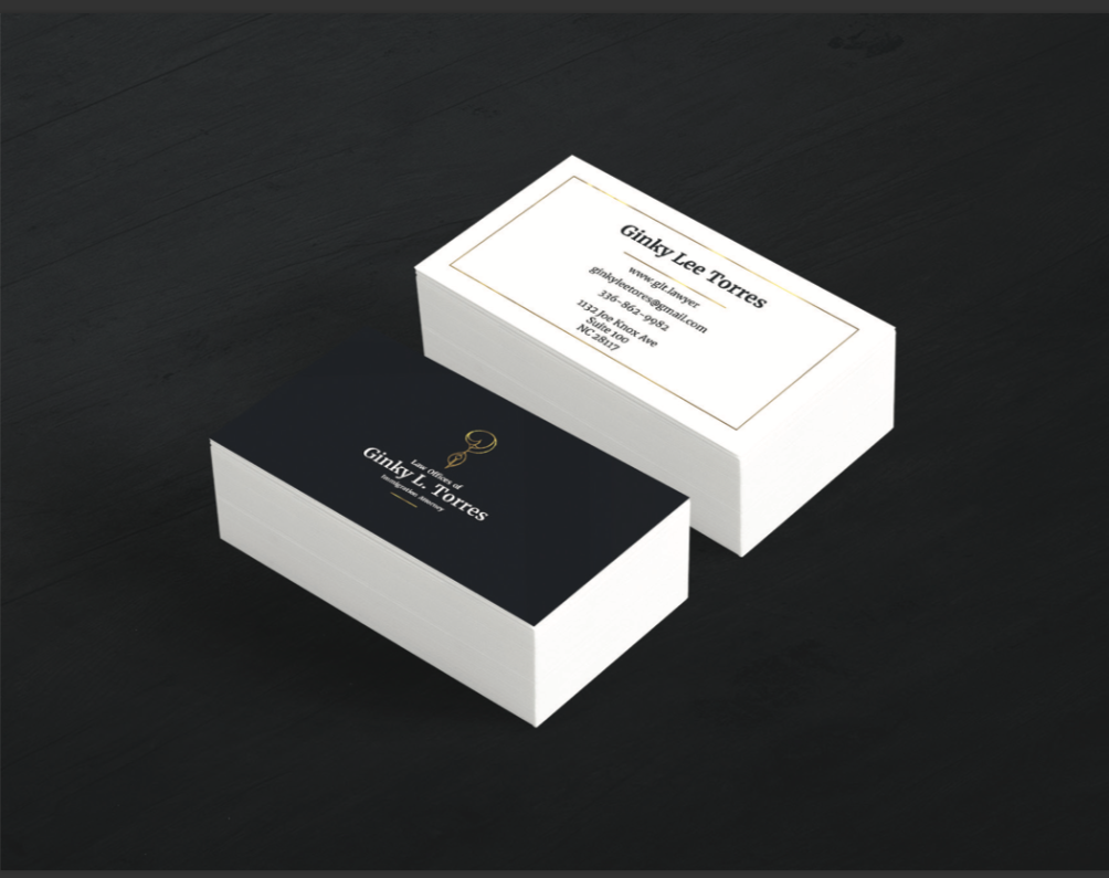 ginky business cards