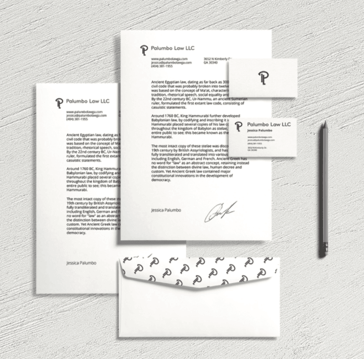 palumbo law marketing materials