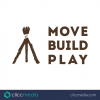 move build play logo