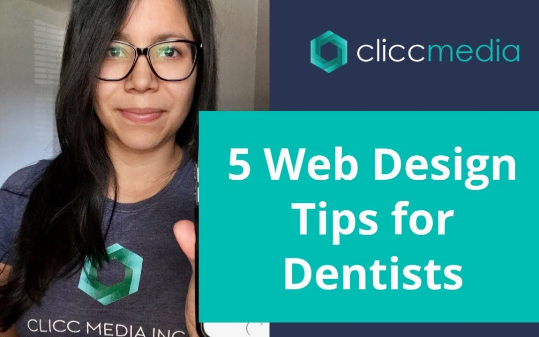 5 Web Design Tips for Dentists