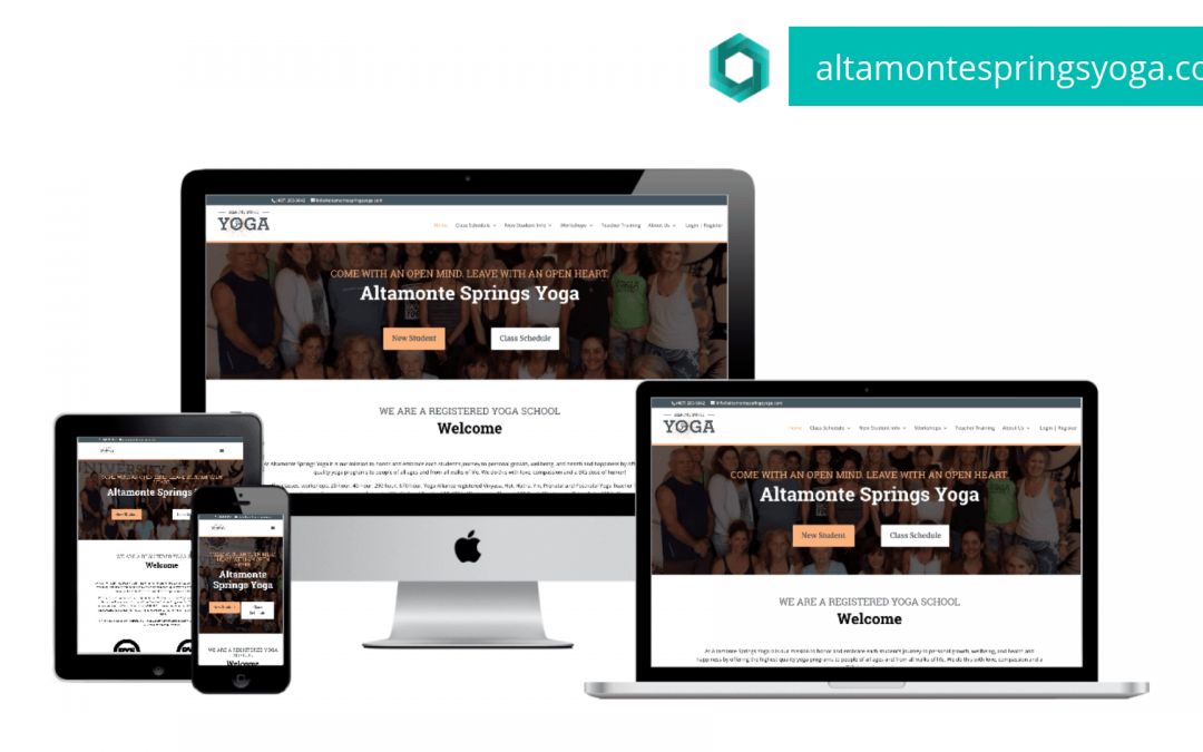 New Website for Altamonte Springs Yoga