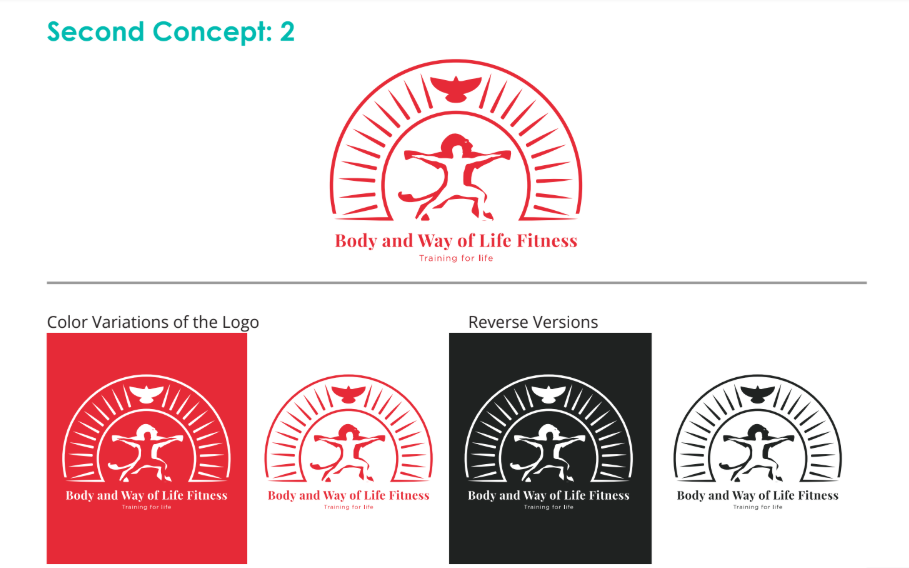 body and way of life logo concept 2